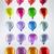 multicolore · palloncini · giocattolo · città · festività · panorama - foto d'archivio © zven0