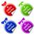 vector · kleurrijk · stickers · ingesteld · stijlvol · ontwerp - stockfoto © zybr78