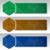 conjunto · abstrato · azul · banners · três · negócio - foto stock © zybr78